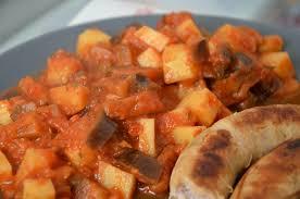 comment cuisiner l aubergine sans graisse ragoût de pommes de terre aux aubergines végétalien allégé la
