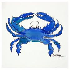 69 best art with blue crabs images on pinterest blue crabs crab