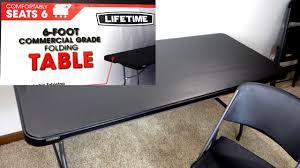 Lifetime 6 Folding Table Lifetime 6 Foot Commercial Grade Folding Table Review