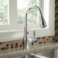 Touch Activated Kitchen Faucets Moen Touchless Kitchen Faucet Kitchen Windigoturbines Moen