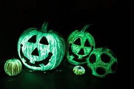 Glow In The Dark Halloween Decoration Ideas by No Carve Pumpkin Decorating Ideas Pumpkin Painting