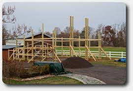 How To Build A Pole Shed Plans by How To Lay Out A Square Pole Building