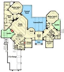 houses with two master bedrooms plan 63259hd luxurious with two master suites outdoor spaces