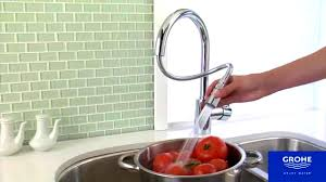 Grohe Kitchen Faucets Canada Bathroom Cute Grohe Concettto Kitchen Faucet Concetto Video