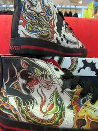 tokyo hiro muteki tattoo design high top shoes clothing shoes