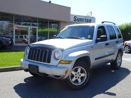 used 2005 jeep liberty rocky mtn edition for sale abbotsford bc