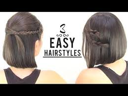 easy hairstyles for short hair roodepoort record