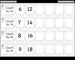 skip counting by 6 7 8 and 9 u2013 worksheet free printable