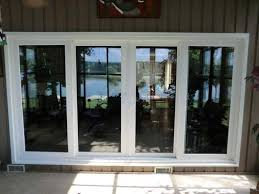 Wood Sliding Glass Patio Doors Patio Custom Patio Doors Andersen Windows With Blinds Inside