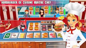 jeux de cuisine service cuisine burger chef cuisine jeu applications android sur