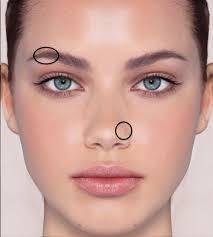 i also want a small hoop nose piercing and stud eyebrow piercing