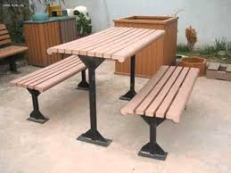 how to make an outdoor table how to make outdoor benches with composite materail youtube