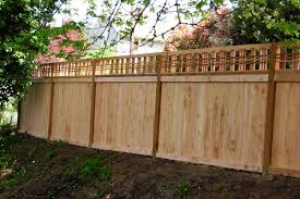 wood lattice wall portland s wood fence contractor for wood fence construction