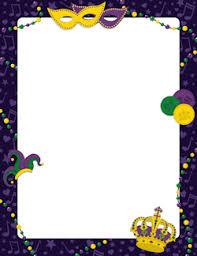 mardi gras picture frames mardis gras border borders frames mardi gras clip