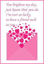 day cards for friends friendship valentines day cards rees s