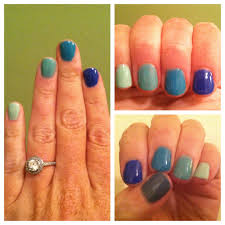 ombre blue green nails u2013 sara alana