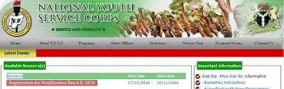 nysc extends closing date for 2016 batch b registration
