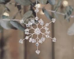 snowflake decoration swarovski ornament