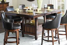 5447 36xl counter height dining table by homelegance