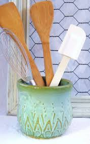 Kitchen Utensil Holder Ideas 26 Best Ceramic Kitchen Utensils Images On Pinterest Kitchen