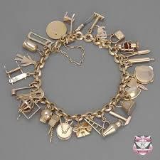 rose gold bracelet charm images Vintage rose gold charm bracelet quot fine jewelry should be fun jpg