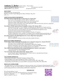 Brown Mackie Optimal Resume Camp Counselor Resume Cover Letter Sample For Counselor