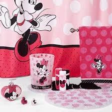 Bathroom Accessories Walmart Com by The Best Of Disney Minnie Mouse Bath Accessories At Bathroom