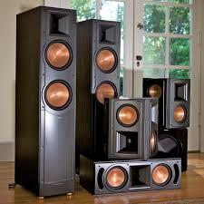 klipsch quintet home theater system standard home cinema system indoor 5 1 rf 82 ii klipsch