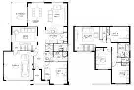 no garage house plans modern 3 bedroom house plans no garage two floor plan awesome home