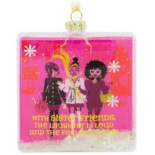 sisterfriends blown glass hallmark ornament specialty ornaments
