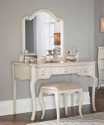Lighted Desk Angela Desk U0026 Arc Lighted Vanity Mirror Set Zulily