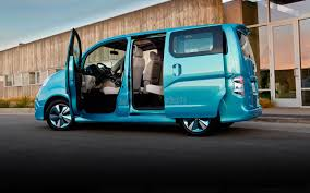 volkswagen minibus side view nissan e nv200 small van concept nissan usa