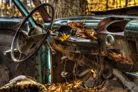 rusty car photography abandoned car jericho vermont photography