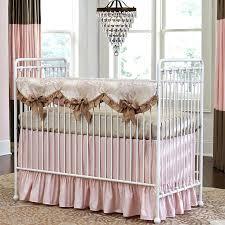 Pink And Brown Damask Crib Bedding Damask Crib Bedding Sets Pink And Gold Crib Bedding Set By Pine