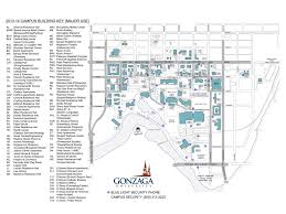 Gt Campus Map Image Gallery Of Gonzaga University Campus Map