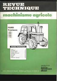 liste chronolique des revue technique tracteur éditée par rta rtma