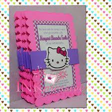 Hello Kitty Birthday Invitation Card Photo Baby Shower Invitation Wording Image