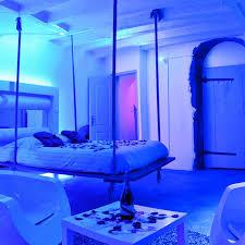 chambre lyon chambre d hôte nuit spa christel mauve éclectique chambre
