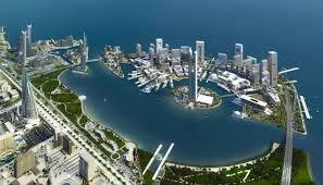 Map Of Bahrain Som Bahrain Bay Master Plan