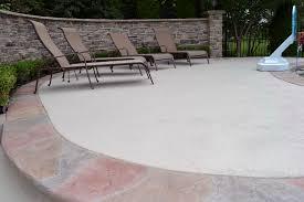 Refinishing Concrete Patio Concrete Patio Resurfacing Denver Home Design Ideas