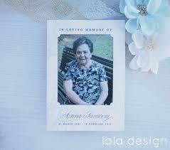 memorial booklet bereavement sympathy cards perth lala design