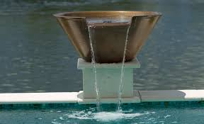 magicbowl water effects pool and spa water features pentair