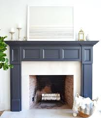 paint colors for fireplace mantels best painted stone fireplace