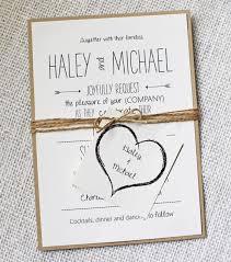 wedding invitations handmade rustic wedding invitation modern rustic chic wedding invitation