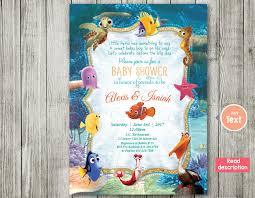 nemo baby shower finding nemo invitation baby shower invitation nemo baby