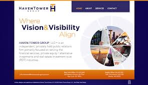 new client website design haven tower group