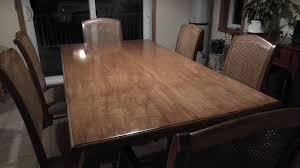 finition pour table de cuisine en merisier