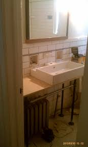 Plumbing Bathroom Vanity Diy Converted Old Sink To Galvanized Pipe Vanity And Doubles As A