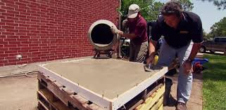 How To Make A Concrete Table by How To Make A Diy Concrete Countertop Today U0027s Homeowner