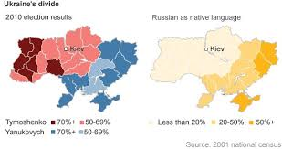 russia map after division ukraine s sharp divisions news